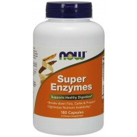 Super Enzymes super enzimas 180 capsules NOW Foods