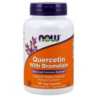 Quercetin with Bromelain 120 Veg Capsules NOW Foods