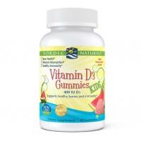 Vitamina D3 KIDS 60 gummies NORDIC Naturals