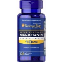 Melatonina 10mg 120 capsulas PURITANS Pride