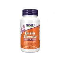 Brain Elevate 60 vegcaps NOW Foods
