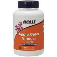 Apple Cider Vinegar 450 mg 180 Capsules NOW Foods