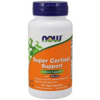 Super Cortisol Support with Relora 90 Veg Capsules NOW Foods