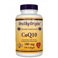 CoQ10 100mg 150 softgels HEALTHY Origins
