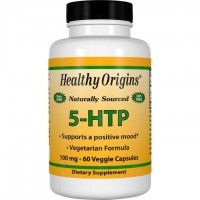 5 HTP 100mg 60 veggie capsules HEALTHY Origins