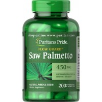 Saw Palmetto 450 mg 200 capsules PURITANS Pride