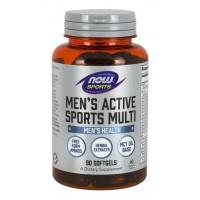 Multivitaminico para Homens Men Active Sports 90 softgels NOW Sports