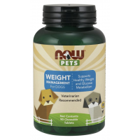 Weight Management para Cães 90 Chewable Tablets NOW Pets