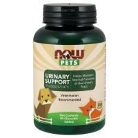 Urinary Support para Cães e Gatos 90 chewables tabs NOW Pets