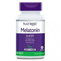 Melatonina 5mg 60tablets NATROL vencimento 12/2021