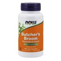 Butcher s Broom 100 Veg Capsules NOW Foods