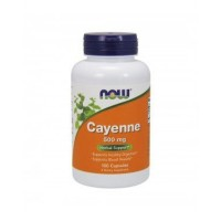 Cayenne 500 mg 100 Veg Capsules NOW Foods