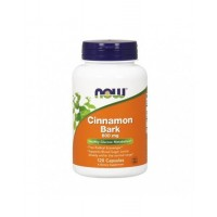 Cinnamon Bark 600 mg  120 Veg Capsules NOW Foods