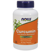 Curcumin 60 Veg Caps NOW Foods