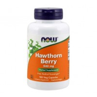 Hawthorn Berry 540 mg 100 Capsules NOW Foods