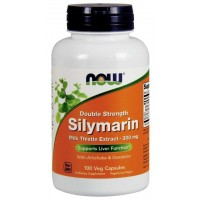 Silymarin Double Strength 300 mg 100 Veg Capsules NOW Foods