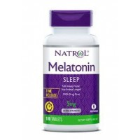 Melatonina 5 mg TIME RELEASE 100 tablets NATROL