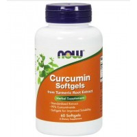 Curcumin 60 softgels NOW Foods