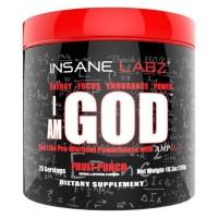 I Am God 25 servings 298g INSANE Labz FRETE GRATIS