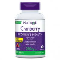 Cranberry saúde da mulher 250mg sublingual 120tablets NATROL