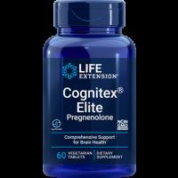Cognitex ELITE Pregnenolone 60 veg tablets LIFE Extension