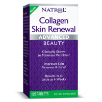 Collagen Skin Renewal Advanced Colageno 120 tablets NATROL