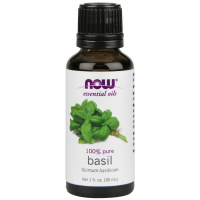 Óleo Essencial de Basil 30ml NOW Foods