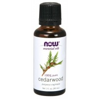 Óleo Essencial Cedarwood 30ml NOW Foods