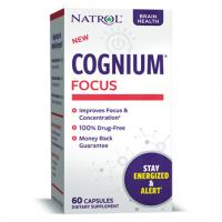 Cognium Focus saúde para o cérebro 60 capsules NATROL
