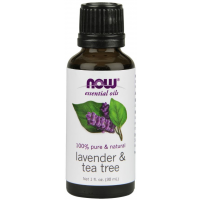 Óleo Essencial Blend Lavender & Tea Tree 30ml NOW Foods