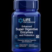 Super Digestive Enzymes c/ PROBIOTICS 60 veg capsules LIFE Extension