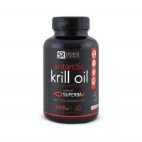 Krill Oil  Antarctic 1000mg  60 caps SPORTS Research