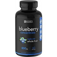 Blueberry Concentrado 800mg 60 sotgels SPORTS Research
