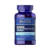 GABA (Ácido Gama Aminobutírico) 750 mg 90 caps   Puritan's Pride
