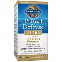 Primal Defense  Ultra Probiotic Formula  90 Vegetarian Capsules Garden of Life