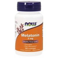 Melatonina 3 mg  180 Lozenges NOW