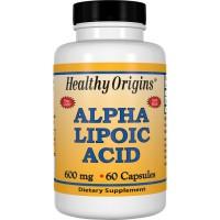 Alpha Lipoic 600mg 60 caps HEALTHY Origins