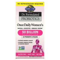 Probiotics Once Daily's women`s 30 Cápsulas Vegetais GARDEN OF LIFE