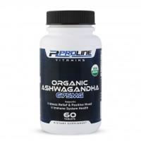 Ashwagandha Organic 675mg  60 tablets PLV Proline Vitamins - Frete Grátis