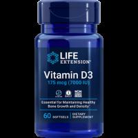 Vitamina D3 7000 IU 60 Softgels LIFE Extension