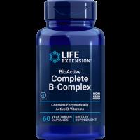 Complexo B - BioActive Complete B Complex 60 veg capsules Life Extension