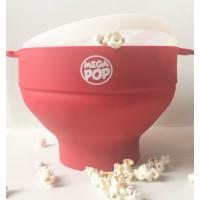 MEGAPOP Pipoqueira de Silicone  (Vasilha p/ Estourar Milho no Microondas)