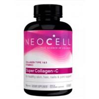 Super Colageno + Vitamin C 6000 mg 120 Tablets NEOCELL
